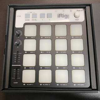 iRig Pads IKmultimedia(MIDIコントローラー)