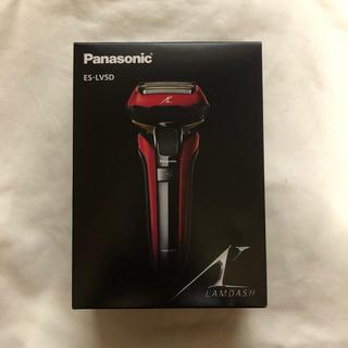 Panasonic - Panasonic ES-LV5D 赤 ラムダッシュ 電気シェーバー
