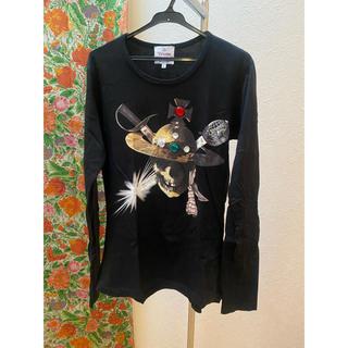 ヴィヴィアンウエストウッド(Vivienne Westwood)のヴィヴィアン パイレーツジュエルTシャツ(Tシャツ/カットソー(七分/長袖))