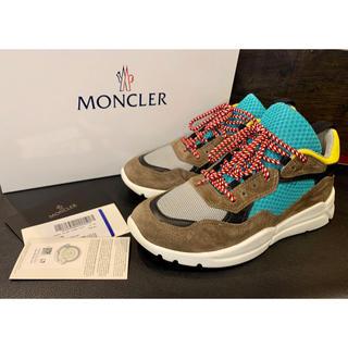 モンクレール(MONCLER)の【超稀少⭐️ほぼ未使用】MONCLER 超軽量スニーカー 41(スニーカー)
