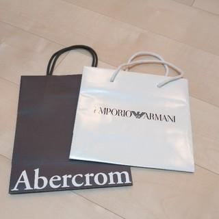 エンポリオアルマーニ(Emporio Armani)のAbercrombie&Fitch エンポリオ・アルマーニ 紙袋(ショップ袋)