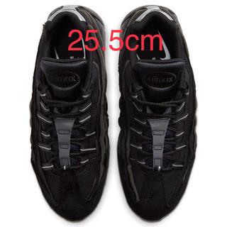 COMME des GARCONS HOMME PLUS - 25.5cm 黒 ブラック ナイキ ギャルソン エアマックス95 正規品