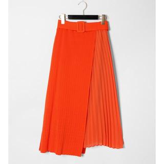GRACE CONTINENTAL - 【TV着用】サイドプリーツニットスカート