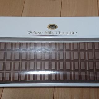 メイジ(明治)のデラックスミルクチョコレート(菓子/デザート)