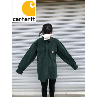 carhartt - カーハート 深緑 シャツ