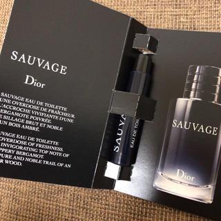 【新品】Dior ソヴァージュ(香水)サンプル