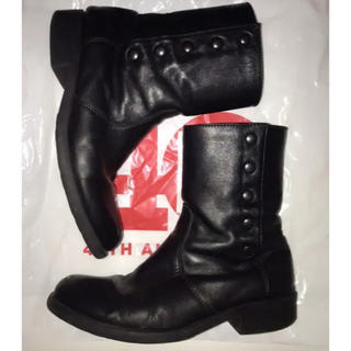 アニエスベー(agnes b.)のagnes b ブーツ ブラック(ブーツ)