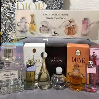Dior♡ブルーミングブーケその他ミニ香水セット