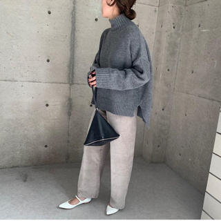 DEUXIEME CLASSE - ella_selctshop slit high neck knit