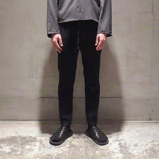 URU ウールスラックスパンツ 紺