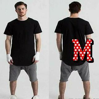 即購入OK❤大人気商品♪売り切れ続出✨ロング丈 Tシャツ メンズ レディース(Tシャツ/カットソー(半袖/袖なし))