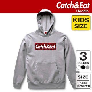 Catch&Eat【フィッシュボーン ステッカー】【ブラック】(その他)