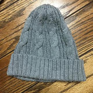 ブラウニー(BROWNY)のニット帽 グレー(ニット帽/ビーニー)