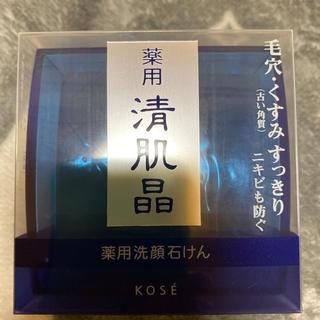 KOSE 薬用 清肌晶 石けん 120g