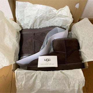 UGG - 【値下げ】美品♡UGG アグ クラシックミニII チョコレート 24cm