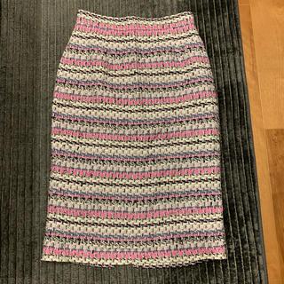 マイストラーダ ツイードタイトスカート