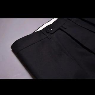 COMOLI - NEAT Hopsack-Wide ブラック 44