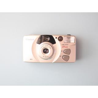 キヤノン(Canon)の完動品 Canon SURE SHOT 85 ZOOM コンパクトフィルムカメラ(フィルムカメラ)