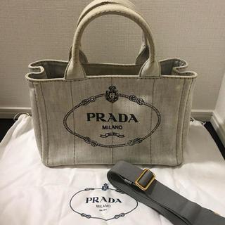 PRADA - プラダ カナパ  PRADA グレー 正規品
