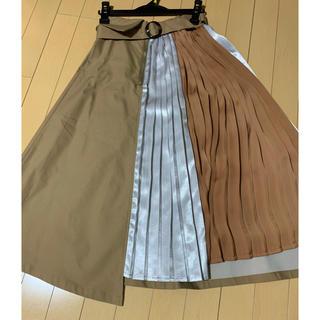 REDYAZEL - レディアゼル  プリーツMIXスカート