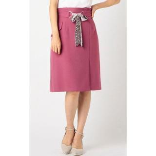 ミッシュマッシュ(MISCH MASCH)の新品未使用 タグ付き ミッシュマッシュ スカーフ ベルト タイトスカート(ひざ丈スカート)