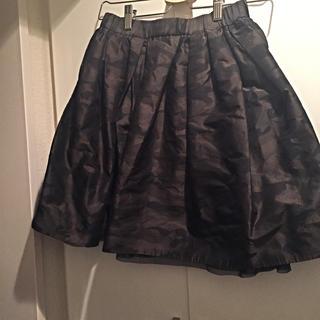 デミルクスビームス(Demi-Luxe BEAMS)のDemiLuxeBeams 迷彩スカート(ひざ丈スカート)