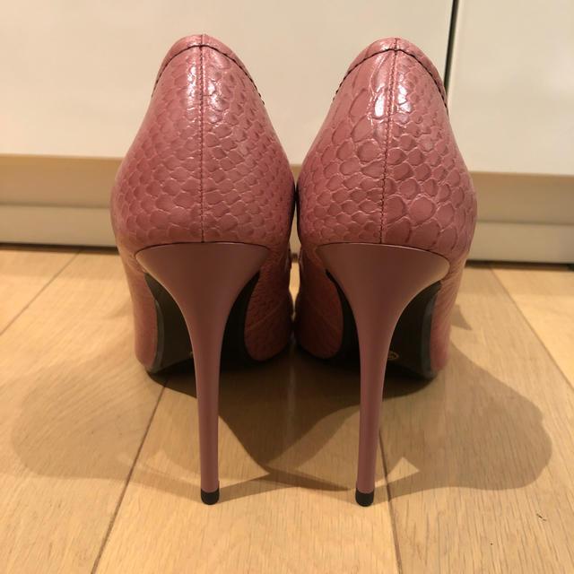 eimy istoire(エイミーイストワール)のエイミー 完売品 パンプス ピンク M 試着のみ レディースの靴/シューズ(ハイヒール/パンプス)の商品写真
