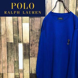 POLO RALPH LAUREN - 【未使用】ポロラルフローレン☆ポロベアワンポイント刺繍ロゴライトサーマルロンT