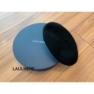 IENA - LAULHERE ベレー帽 ブラック