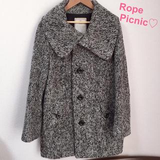 ロペピクニック(Rope' Picnic)の1/28まで値下げ♡ロペピクニック♡コート♡ツイード(ロングコート)