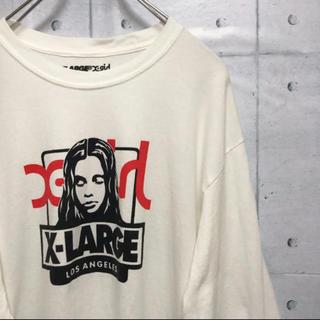 XLARGE - XLARGE × X-girl  コラボ ロンtee