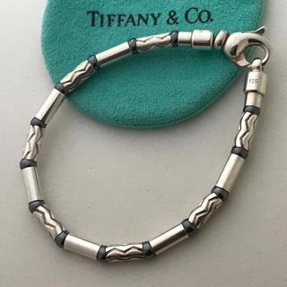 Tiffany ヘマタイトブレスレット 美品