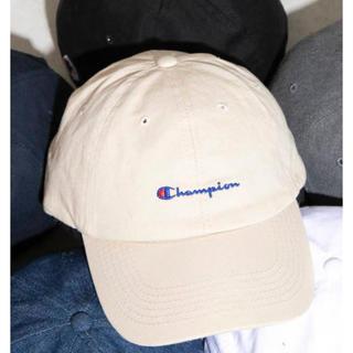 チャンピオン(Champion)のchampion cap ⭐︎ ベージュ(キャップ)