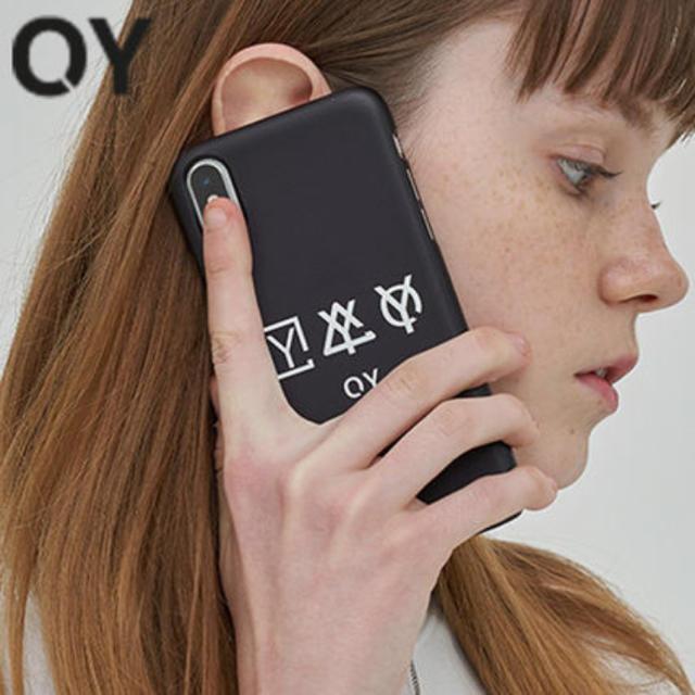 OY スマホケース iPhone X 【新品】の通販