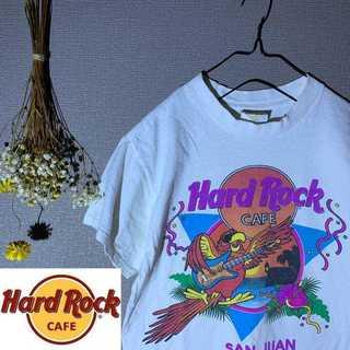 激レア 90's HardRockCafe ビックプリント Tシャツ(Tシャツ/カットソー(半袖/袖なし))