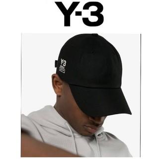 ワイスリー(Y-3)の残り3点のみ 新品  国内完全完売商品 Y-3 DAD CAP(BLACK)(キャップ)