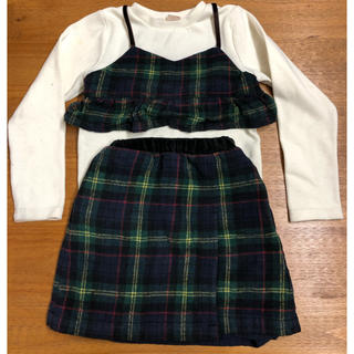 petit main - プティマイン スカート 130