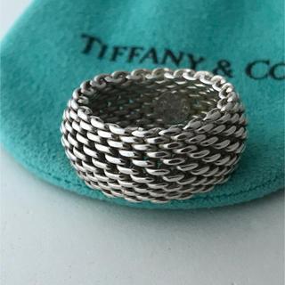 ティファニー(Tiffany & Co.)のTiffany メッシュ リング 13号(リング(指輪))