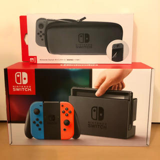 Nintendo Switch - Nintendo Switch 任天堂スイッチ ネオンブルー/レッド