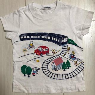 ファミリア(familiar)の【kids】ファミリア 半袖シャツ(Tシャツ/カットソー)