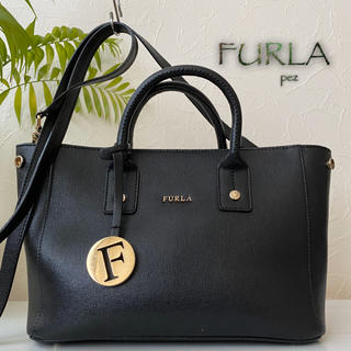 Furla - 新品同様 フルラ リンダ 49,680円 2way レザーショルダーバッグ 鞄