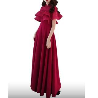 アナスイ(ANNA SUI)の赤薔薇のドレス 【513】(ロングワンピース/マキシワンピース)