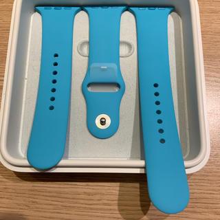 Apple Watch - (新品未使用) Apple Watch 42mm ブルー