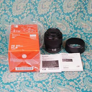 SONY - SONY ソニー FE 50mm F1.8 単焦点レンズ SEL50F18F