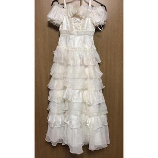 キッズ ドレス フォーマル ワンピース 130cm 140cm 白