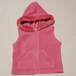babyGAP ピンク ベスト フリース