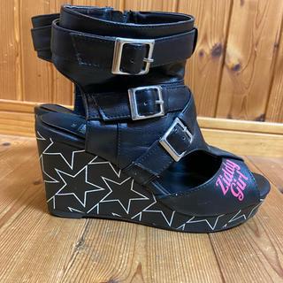 Ziddy 靴 24.0 サンダル