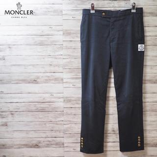 MONCLER - Mocler Gamme Bleu ゴールドボタン チノパンツ イタリア製