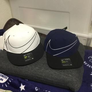 NIKE - 未使用品  NIKE  帽子 2個セット 親子等に。