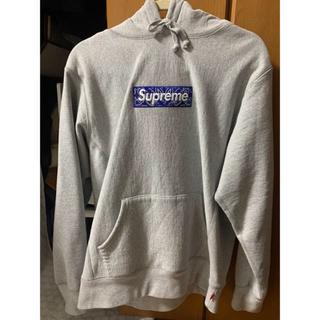 Supreme - supreme Bandana Box Logo Hooded Grey